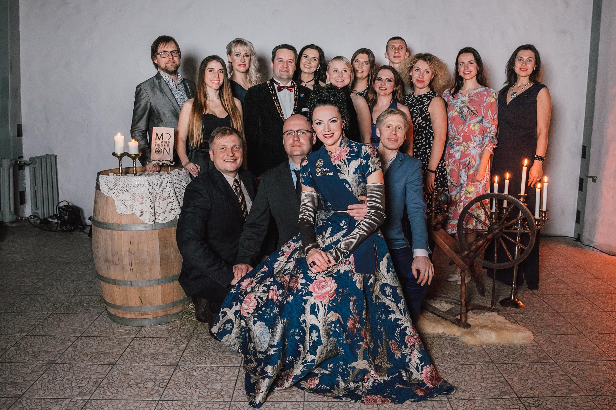 Tallinn Moon Rotari Klubi liikmed